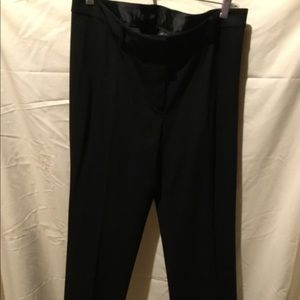 Black wool lined pants. Size 12